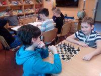 Školní kolo šachového turnaje 22. 11.