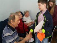 Velikonoční návštěva gerontologického centra 4.C