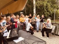 Den Seniorů 1. 10. 2019 zahrada Gerontologického centra