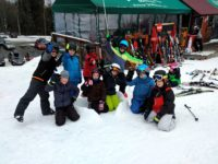 3.A zimní škola v přírodě na lyžích 6. 1. – 10. 1. 2020