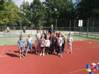 Sportovní odpoledne v družině s fotbalem 10. 9. 2020