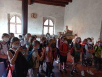 Výlet 4.C a 6.B na hrad Karlštejn a do Tepfaktoru 29. 6. 2021